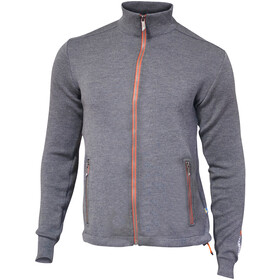 Ivanhoe of Sweden Assar Giacca con zip intera Uomo, grey